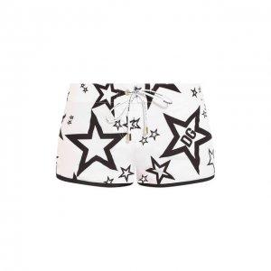 Плавки-шорты Dolce & Gabbana. Цвет: белый