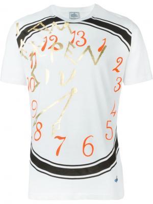 Футболки и жилеты Vivienne Westwood Man. Цвет: белый