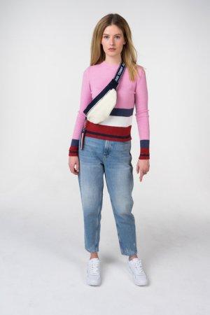 Пуловер Tommy Jeans. Цвет: розовый