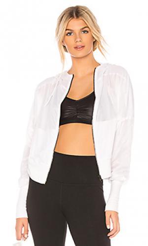 Куртка aqua alo. Цвет: белый