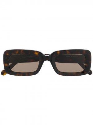 Солнцезащитные очки в квадратной оправе Stella McCartney Eyewear. Цвет: черный