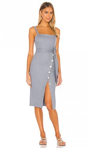 Платье saratoga Privacy Please. Цвет: синий