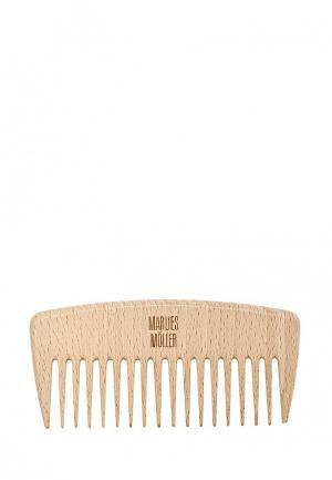 Расческа Marlies Moller Гребень для вьющихся волос. Цвет: бежевый