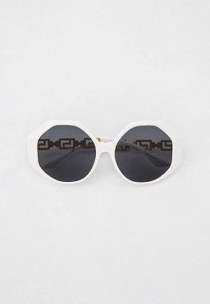 Очки солнцезащитные Versace VE4395 314/87. Цвет: белый