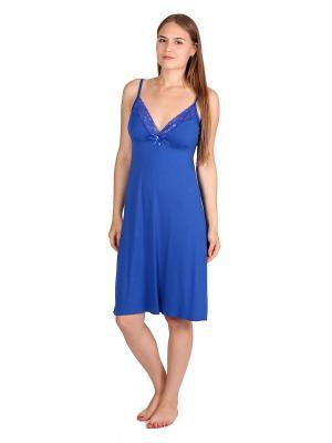 Ночная сорочка Flip. Цвет: синий