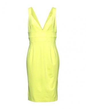 Короткое платье FRENCH CONNECTION. Цвет: желтый