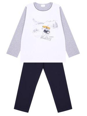 Пижама хлопковая для мальчика LA PERLA