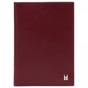Обложка для паспорта Moreschi. Цвет: бордовый