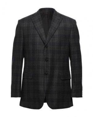 Пиджак BRIONI. Цвет: темно-коричневый