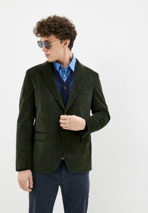Пиджак De Fursac. Цвет: зеленый