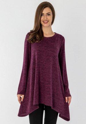 Туника S&A Style. Цвет: фиолетовый