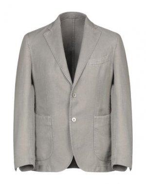 Пиджак EDDY & BROS. Цвет: голубиный серый