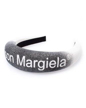 Ободок S52VT0029 UNI белый+принт MM6 Maison Margiela. Цвет: белый+принт