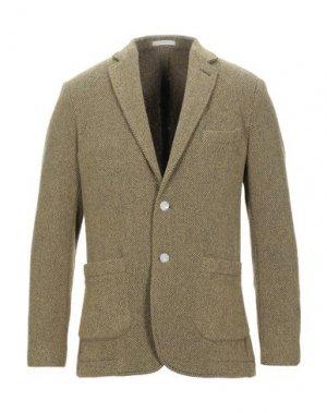 Пиджак CRUNA. Цвет: охра