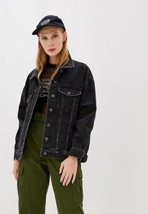 Куртка джинсовая OVS. Цвет: черный
