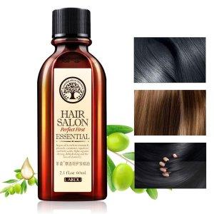 Восстанавливающее питательное масло для волос SHEIN. Цвет: белый