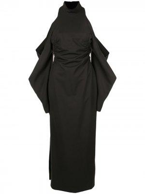 Платье миди Bernstein CAMILLA AND MARC. Цвет: черный