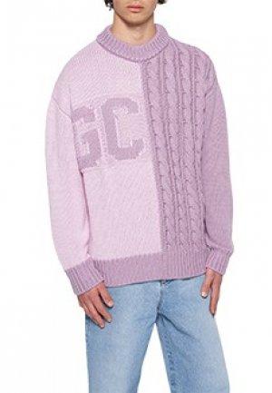 Свитер GCDS. Цвет: фиолетовый