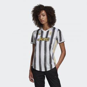 Домашняя игровая футболка Ювентус 20/21 Performance adidas. Цвет: черный