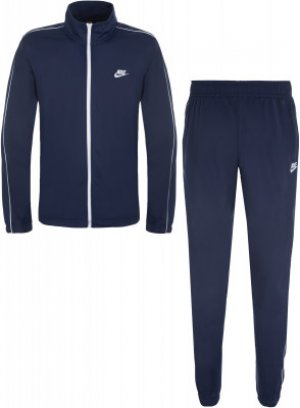 Костюм мужской Sportswear Basic, размер 44-46 Nike. Цвет: синий