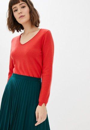 Пуловер Manode. Цвет: коралловый
