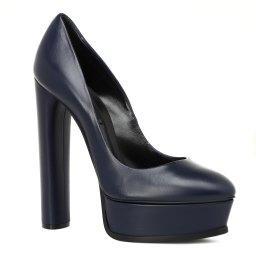 Туфли 1F177E140 темно-синий CASADEI