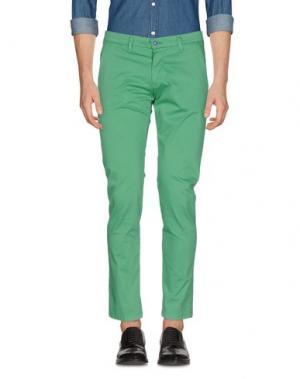 Повседневные брюки EXCLUSIVE. Цвет: зеленый