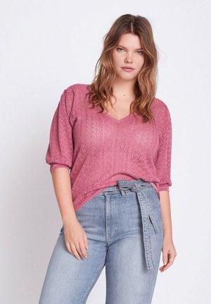 Пуловер Violeta by Mango - KEIRA. Цвет: розовый