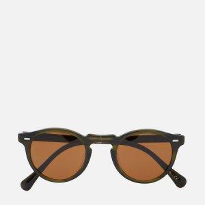 Солнцезащитные очки Gregory Peck 1962 Oliver Peoples. Цвет: зелёный