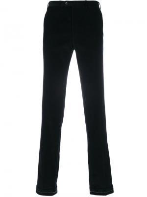 Классические брюки Brioni. Цвет: чёрный