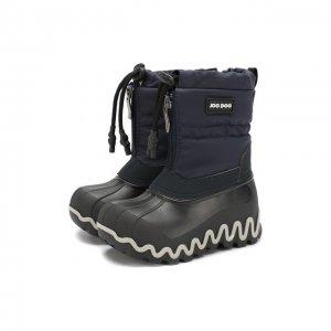 Утепленные сапоги Jog Dog. Цвет: синий