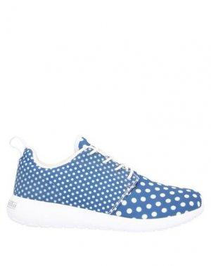 Низкие кеды и кроссовки LAMBRETTA. Цвет: синий