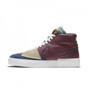 Кроссовки для скейтбординга Nike SB Zoom Blazer Mid Edge - Красный