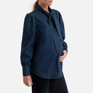 Блузка LaRedoute. Цвет: синий