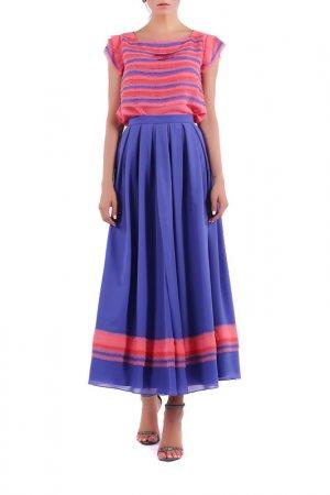 Юбка Isabel Garcia. Цвет: blue, pink