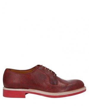 Обувь на шнурках CORVARI. Цвет: красно-коричневый