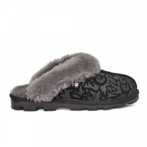Coquette Sparkle Graffiti Women UGG. Цвет: чёрный