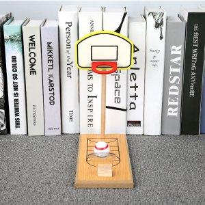 Настольная баскетбольная игрушка мини SHEIN. Цвет: многоцветный