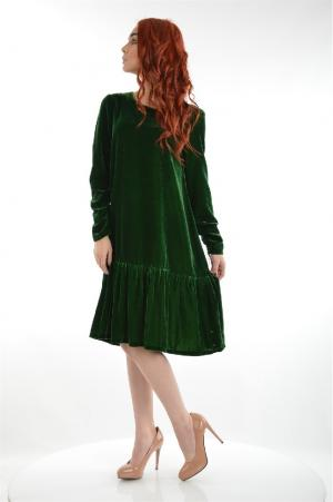 Платье European Culture. Цвет: зеленый