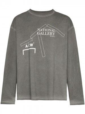 Лонгслив National Gallery A-COLD-WALL*. Цвет: серый