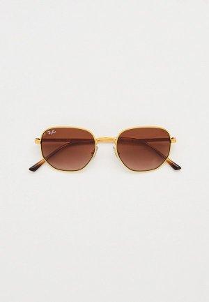 Очки солнцезащитные Ray-Ban® RB3682 001/13. Цвет: золотой