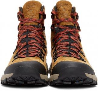 Tan Arctic 600 Side-Zip Boots Danner. Цвет: brn/red