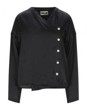 Pубашка HACHE. Цвет: черный