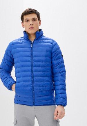 Куртка утепленная Blue Seven. Цвет: синий