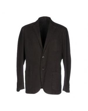 Пиджак BRIAN HAMILTON. Цвет: темно-коричневый