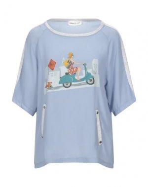 Блузка EAN 13. Цвет: лазурный