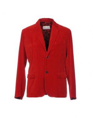 Пиджак DEPARTMENT 5. Цвет: кирпично-красный