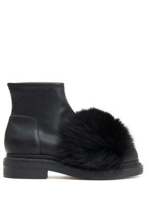 Кожаные ботинки GREYMER