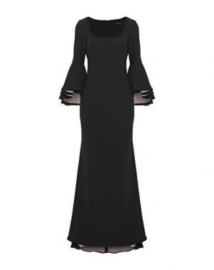 Длинное платье BADGLEY MISCHKA. Цвет: черный