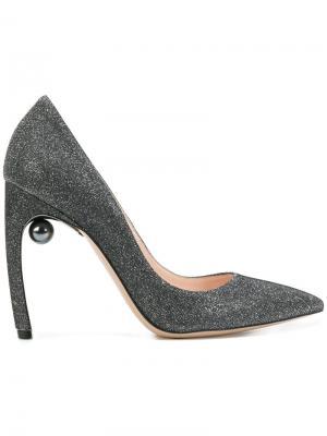 Туфли-лодочки Mira с жемчугом Nicholas Kirkwood